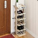 Regal im Wohnzimmer Schlafzimmer Küche Shoe Rack Modern Einfache Montage Von Innovativen Schuh-Racks Dekoration Rack YYJRR-Eckregale ( Farbe : 2* )