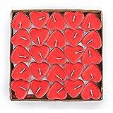 Doitsa Tealight Heart 50 Stück Set Herz Kerzen Romantische Ehe