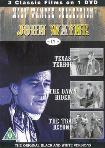 John Wayne Most Wanted - Texas Terror / The Dawn Rider / The Trail Beyond [1935] [DVD] [Edizione: Re