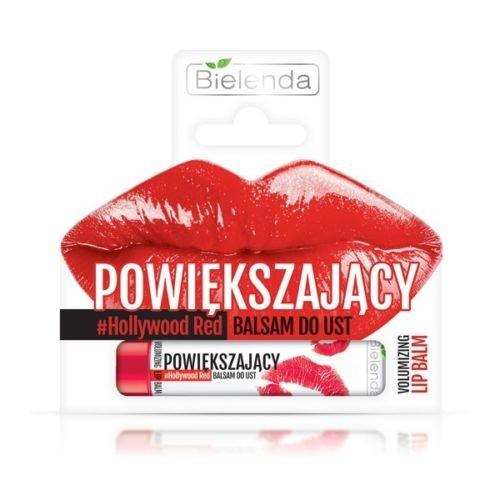 BIELENDA Lip Serum Lippen Balsam Füller Größere Lippen #Hollywood Red 10 ml