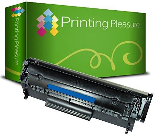 Printing Pleasure Toner kompatibel zu Q2612A 12A Canon FX-10 FX-9 303 703 für HP Laserjet 1010 1012 1015 1018 1020 1020 Plus 1022 1022N 1022NW 3015 3020 3030 3050 3052 3055 M1005 MFP M1319F MFP Canon LBP-2900 LBP-2900i LBP-2900B LBP-3000 I-Sensys MF-4010 MF-4012 MF-4014 MF-4050 MF-4012 MF-4014 MF-4050 MF-4100 MF-4120 MF-4140 MF-4150 MF-4210 MF-4270 MF-4320D MF-4330D MF-4340D MF-4350D MF-4370DN MF-4380DN MF-4660PL MF-4690PL Fax L95 L100 L120 L140 L160 PC-D440 PC-D450 - Schwarz, hohe Kapazität