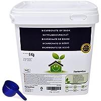 NortemBio Bicarbonato de Sodio 5kg, Insumo Ecológico de Origen Natural, Calidad Premium. Producto CE.