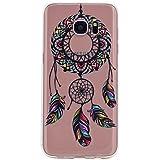iPhone 5/5S/Se Funda para teléfono móvil, fubaobao transparente ultrafina de TPU, hermosa moda, fina diseño de impresión