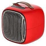 Mini Smart Elektro-Heizung zu Hause Schlafsaal kleine Heizung Büro tragbare Desktop-Heizung,Red