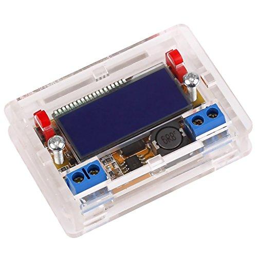 MagiDeal DC-DC Regulable Ajustable Fuente De Alimentación Buck Módulo LCD Regulador De Voltaje