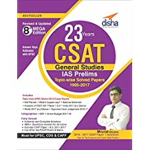 23 Years CSAT General Studies IAS Prelims Topic-wise Solved Papers (1995-2017)