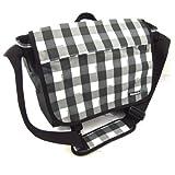 Messenger bag 'Reebok' black gray (special computer).