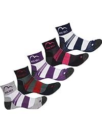 More Mile Endurance (5 Pack) Ladies Running Socks