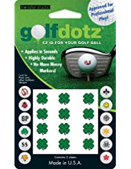 Masters Golf-Ballmarker x Dotz Transfers Kleeblättern