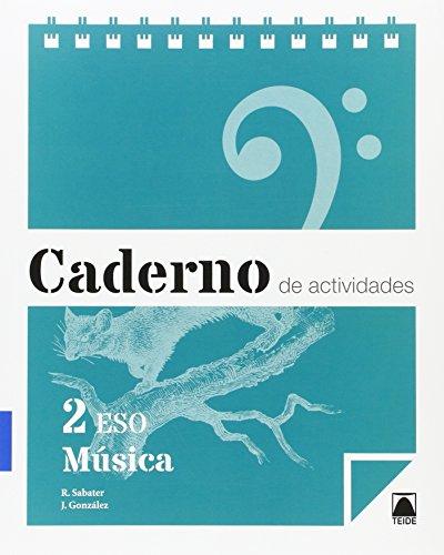 Caderno de actividades. Música 2 ESO (Galicia) - 9788430790173