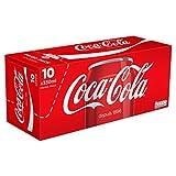 Coca-Cola - Paquete De Nevera Caja 10X33Cl - Frigo Pack Boite 10X33Cl - Precio Por Unidad - Entrega Rápida