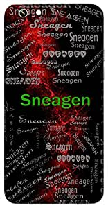 Sneagen (Friend) Name & Sign Printed All over customize & Personalized!! Protective back cover for your Smart Phone : Moto G-4-Plus