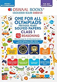 One for All Olympiad Previous Years' Solved Papers, Class-1 Reasoning Book (For 2021-22 Exam)