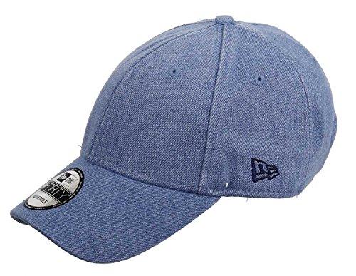 New Era New Era Basecap Verstellbar 9forty Herren Damen Blau Denim Seasonal Clean - One-Size