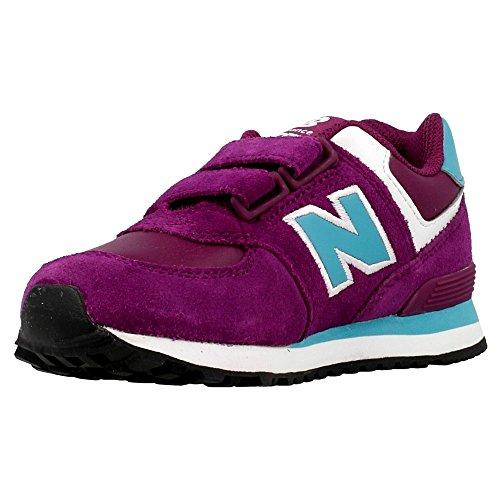 NEW BALANCE–KG574, sneaker fille Viola/Celeste