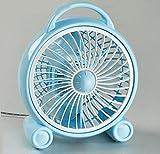 Miaoge Boxventilator Miniventilator Cartoon Fan Student Fan Tischventilator Minitischventilator 223*163*268mm