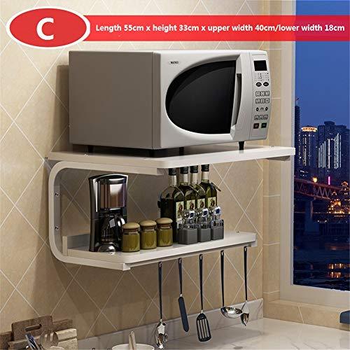 WMLD Mikrowelle, Mikrowelle, * Halterung,küche Ofen Rack,Halterung Hängt,Double Storage