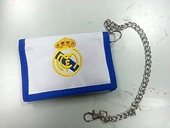 Offiziell Lizensierte Original Fc Real Madrid Geldbörse Geldbeutel Mit Kette – Lizensierter Real Madrid Fanartikel 2
