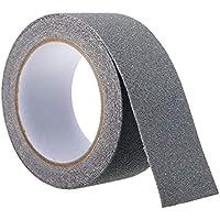 Antirutschband Selbstklebend Belag Rutschschutz Treppen 50mm x 6m Schwarz
