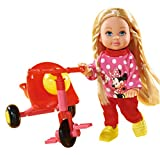 Simba 105746352 - Evi Love Minnie Mouse Trike Fun, 2-sortiert