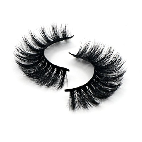 Arison Lashes Horse Hair False Eyelashes 3D 100% Hand-made Natural Look for Makeup (1 Pair)