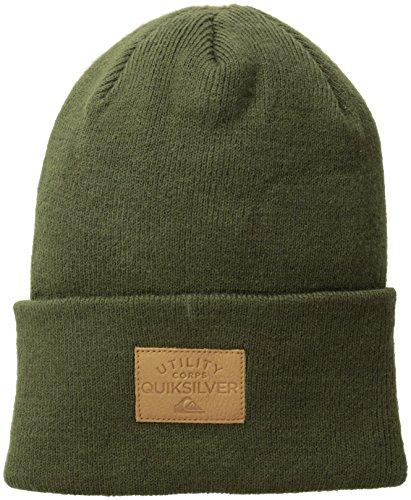 Quiksilver, Cappello Uomo Brigade, Verde (Winter Moss), Taglia unica