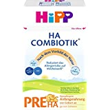 Hipp Milchnahrung Pre HA Combiotik, 4er Pack (4 x 500 g Packung)