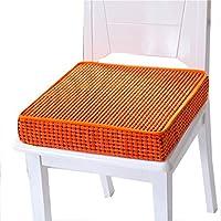 Preisvergleich für Kissen Stuhlkissen Sitzkissen Tatami Mat Haushalt Schwamm Kissen Tatami Kissen Rutschfest Sitzkissen Orange (Size : 45 * 45 * 8cm)