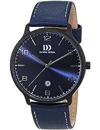 Danish Design Herren-Armbanduhr Analog Quarz Leder 3316339