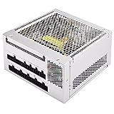 SilverStone SST-NJ520 - Nightjar Serie, 520W 80 Plus Platinum lüfterloses flüsterleises ATX PC-Netzteil, 100 modular