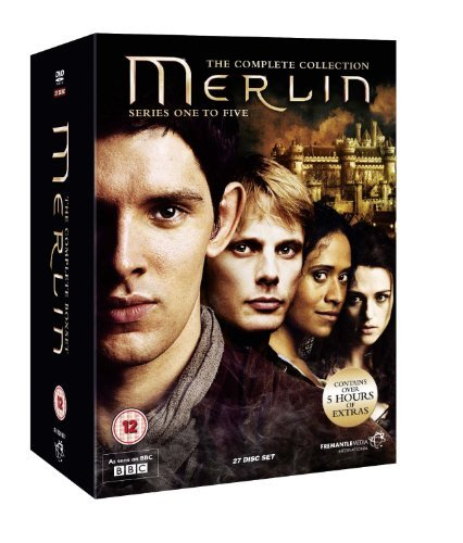 The Complete Merlin BBC TV Series DVD Box Set Collection: Series 1, 2, 3, 4 and 5 Extras