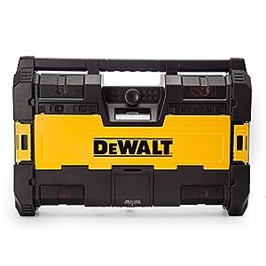 519BWDwzS3L. SS300  - Dewalt DWST1-75663-GB - Toughsystem dab radio con 6 altavoces/bluetooth y usb - negro