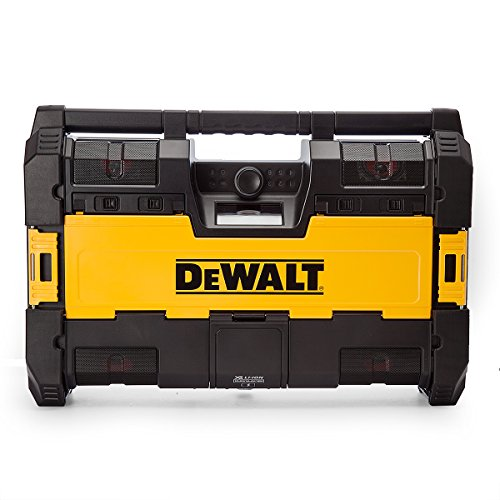 Dewalt-DWST1-75663-Tough-System-DABBluetooth-Jobsite-Radio-XR-Battery-Charger-18-V-YellowBlack