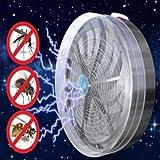 Buzz Zapper Killer Solar Lampe, Siswong Fliegen Insekten Wanzen Moskito töten mit UV-Licht