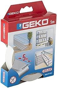 Geko Merdiven Kaydırmaz Kendinden Yapışkanlı Bant, Şeffaf, 25 X 5 M