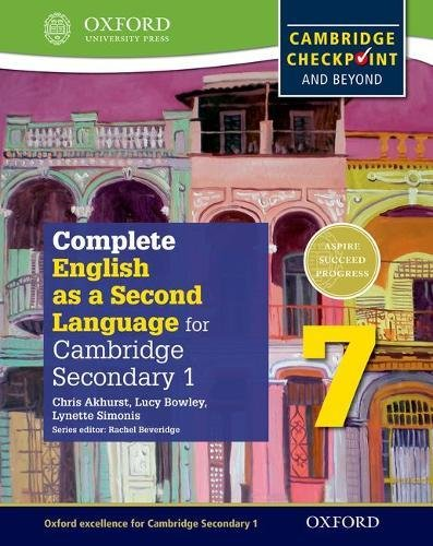 Descargar COMPLETE ENGLISH AS A SECOND LANGUAGE FOR CAMBRIDGE SECONDARY 1 STUDENT BOOK 7 & CD