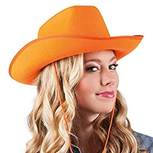 ORANGE Cowboy Hat (gorro/sombrero)
