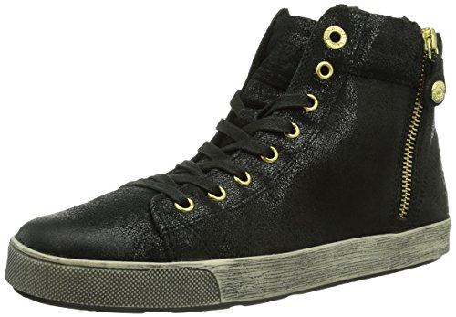 s.Oliver 25110, Sneaker a collo alto Donna Nero (Schwarz (BLACK ANTIC 2))