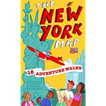 Adventure Walks New York Map: Sightseeing Walks for Families