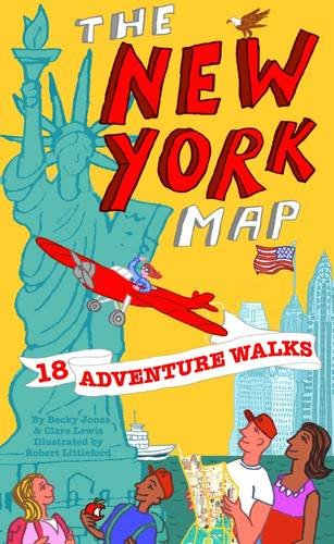 Adventure Walks New York Map (Adventure Walks World City Map Series)