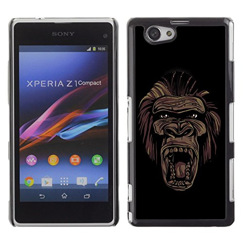 -for-sony-xperia-z1-compact-xtreme-cover-hart-ruckseite-schutzhulle-case-ape-apes