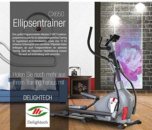 Sportstech Elite Crosstrainer CX650 mit App Steuerung + Google Maps - 7