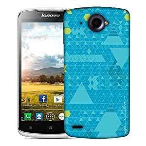 Snoogg Yoga Run Love Designer Protective Phone Back Case Cover For Lenovo S920