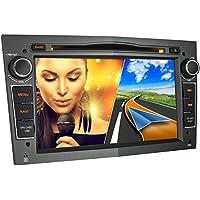 XOMAX XM-01L Autoradio passend für Opel Corsa, Astra, Vectra, Zafira, Antara, Meriva, Vivaro I mit GPS Navigation, Bluetooth Freisprecheinrichtung, 7 Zoll 18 cm Touchscreen, USB, Micro SD, DVD, CD I 2 DIN