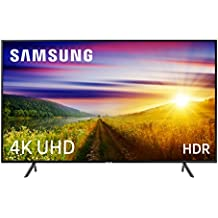 "Samsung 49NU7105 - Smart TV de 49"" 4K UHD HDR (Pantalla Slim, Quad-Core, 3 HDMI, 2 USB), Color Negro (Carbon Black)"