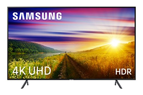 Samsung UE49NU7105K - Smart TV de 49' (4K UHD HDR, Pantalla Slim, Quad-Core), Color Negro