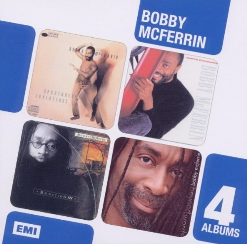 Boxed Set 4CD Spontaneous Inventions/Simple Pleasures/Bang Zoom/Beyond Words by Bobby McFerrin