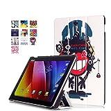 Skytar Coque Asus ZenPad Z300,Housse en PU Cuir pour ASUS ZenPad 10...