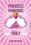 Prinzess Parking only blechschild auto motorrad park schild