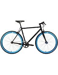 """KS Cycling Fahrrad Fixie Fitnessbike 28"""" Pegado schwarz-blau RH 59 cm KS Cycling, schwarz, 28, 102R"""